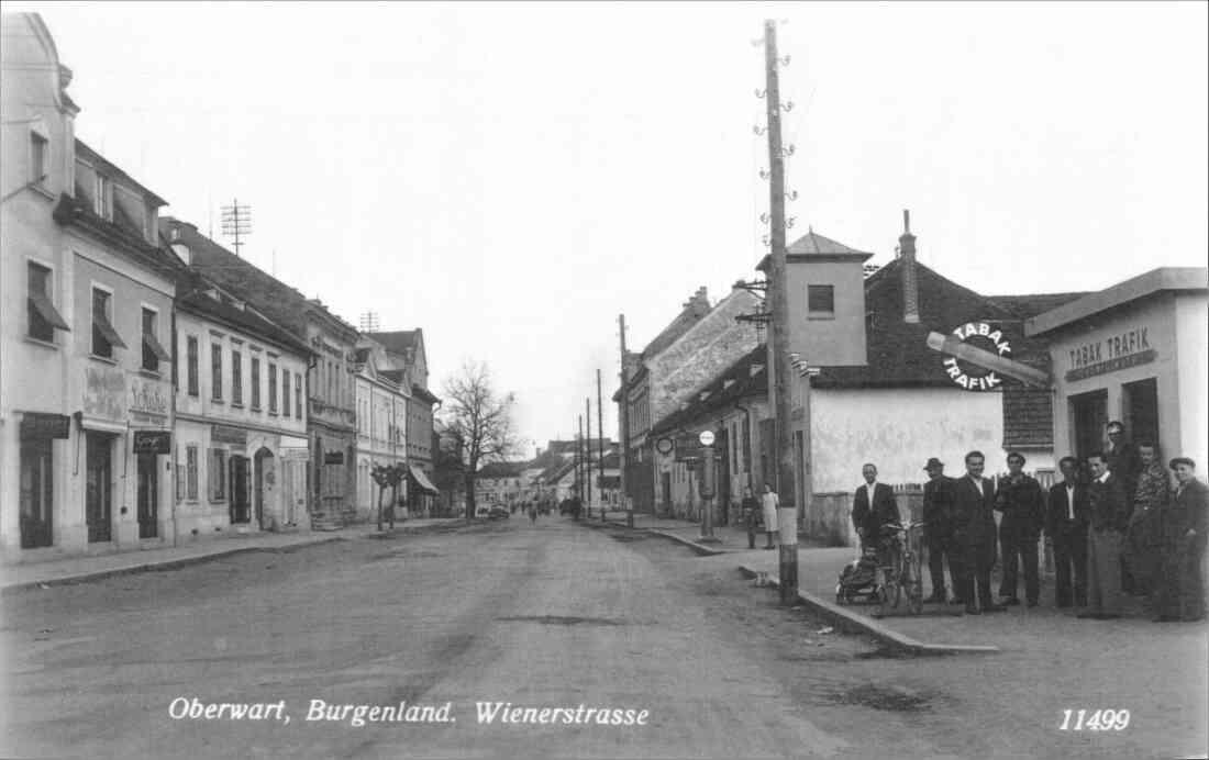 Ansichtskarte: Wienerstraße gegen SO
