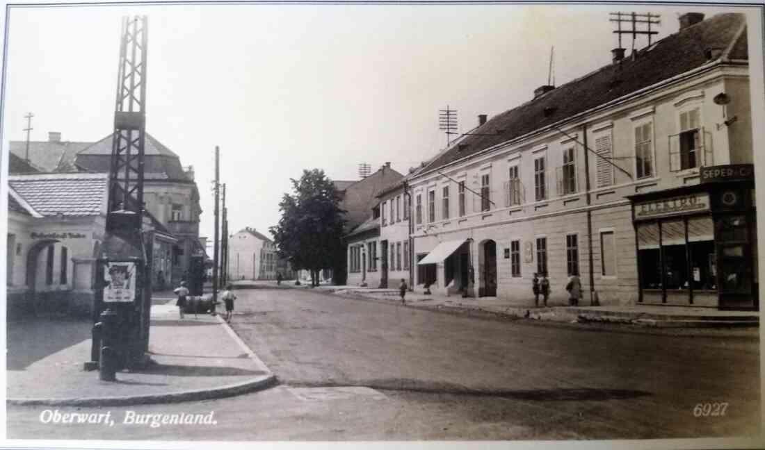 Ansichtskarte: Wienerstraße in Richtung NW