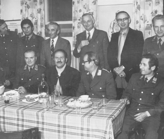 Gendarmeriebeamter Franz Ulreich feiert seinen 50 Geburtstag