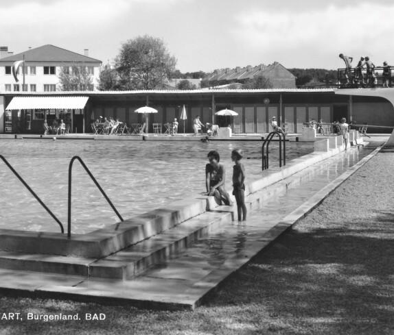 Ansichtskarte: Freibad / Schwimmbad (Badgasse 6)