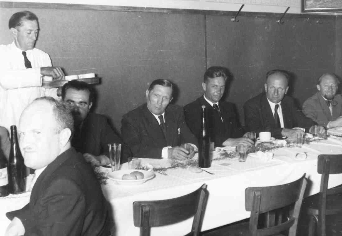 Röm. kath. Pfarre: Einladung anlässlich der Pfarrhofweihe am 30. August 1953